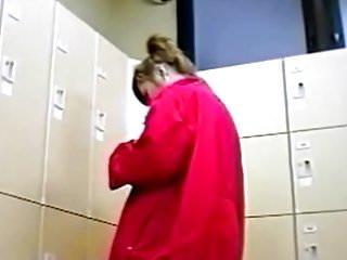 Naked girls in a locker room Asian sweetheart in a locker room