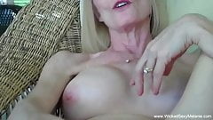 Sexy Grandma Sucking Down The Cock
