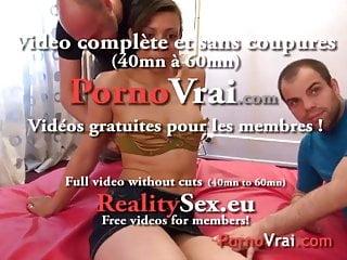White porno party - La beurette fait un porno en cachette de son mari