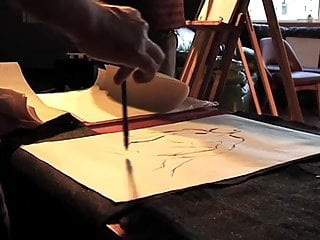 Femdom drawing Life drawing episode