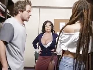 College dudes porno Dude scores with the curviest teacher in the college campus