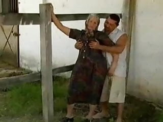 Nude farm sex - Hot steamy granny sex on farm