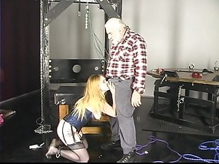 Cock masters Kinky kimber sucks her masters cock in dungeon