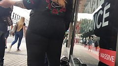 Black jeans candid