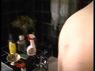 Doggystyle bathroom sex - Bathroom sex for a big titted babe