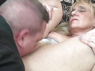 Grandma and son sex tube - Grandma fucks son-in-law