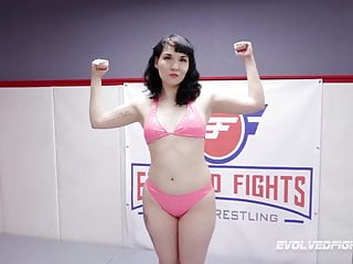 Girl vs man fights erotic stories - Alexa nova vs luna sapphire in hot lesbian wrestling fight