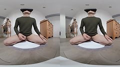 Cum in your face in VR