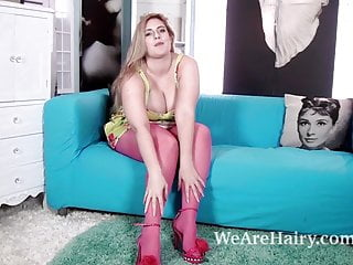 Eve ellis latex - Ellie roe takes off stockings and dress to play