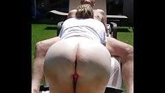 Mature Backyard Fucking
