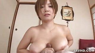 Dirty patient enjoys Meguru Kosaka sponge bath