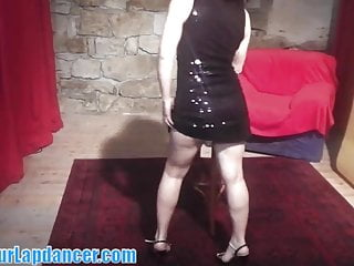 Sexy teen girl dresses Shy czech chick lapdances in sexy dress