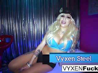 Sexy stripper dancers Sexy stripper vyxen gets fucked in her tight ass