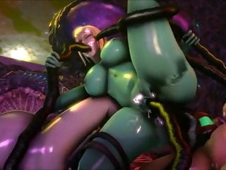 Tentacle sex scenes Metroid tentacles
