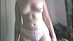 i asked my wife to pull down her panties