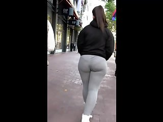 Big legs thick bottom song - Short thick pawg tight grey leggings omg