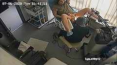 Hidden Spy IP Camera - Gynecologic Examination #003