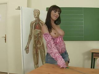 Gross anatomy of the vagina - Maria bellucci is a naughty anatomy teacher