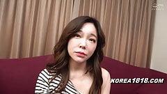 Korean sex worker fucks for money