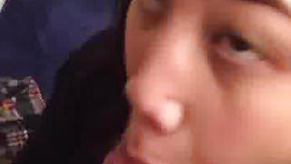 Diachanglor learning to deepthroat Hmoob qau