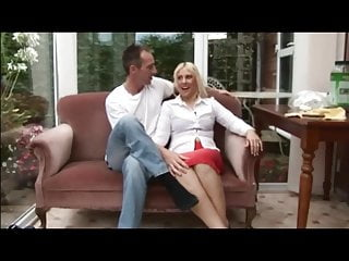 Gay tattooed threesome - British wife and hubby threesome with tattooed escort