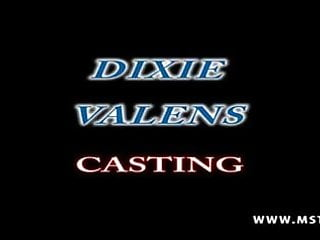 Dixie daytona interracial - Dixie valens son premier casting