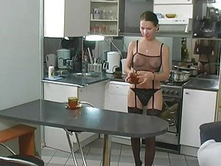 Porn kitchen - Teen dped in the kitchen