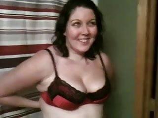 Sexy bra women Stripping off my sexy bra