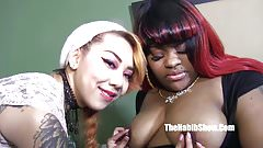 gangbang threesome bbw ms giggle asian kim chi and hennesey