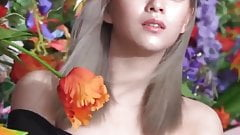 Here's Jeongyeon Showing Off Some Cleavage