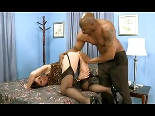 Hot mature stockings Hot mature wife in stockings rides bbc