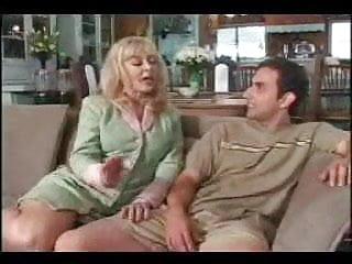 Cum heels Mrs. hartley seduces her sons friend