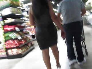 Short skirt milf sofa sex videos Persian milf in tight leather short skirt and high heels pt2