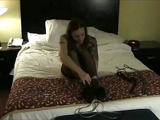 Woman self bondage story Self bondage mistake