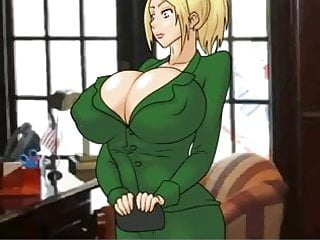 Samas aran hentai games Hentai sex game how to get a job being a big boobs blonde