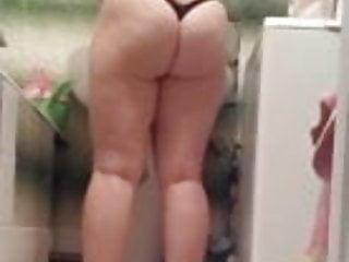 Tanga lingerie Ass tanga voyeur