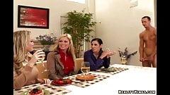 Very special buffet lunch - CFNM Secret
