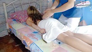PinayUnexpected Fuck by Her Home Service Massage Therapist