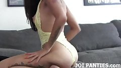 I picked up a hot pair of panties to model for you JOI