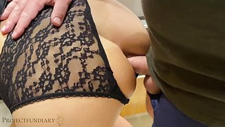 nympho stepsister's first double penetration, projectsexdiary