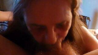 deepthroating my husband – sucking him off got me cim