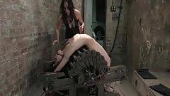 Lesbian BDSM - Mistress Isis Love Torture Amie