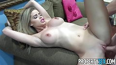 PropertySex - Fucking hot step-cousin real estate agent