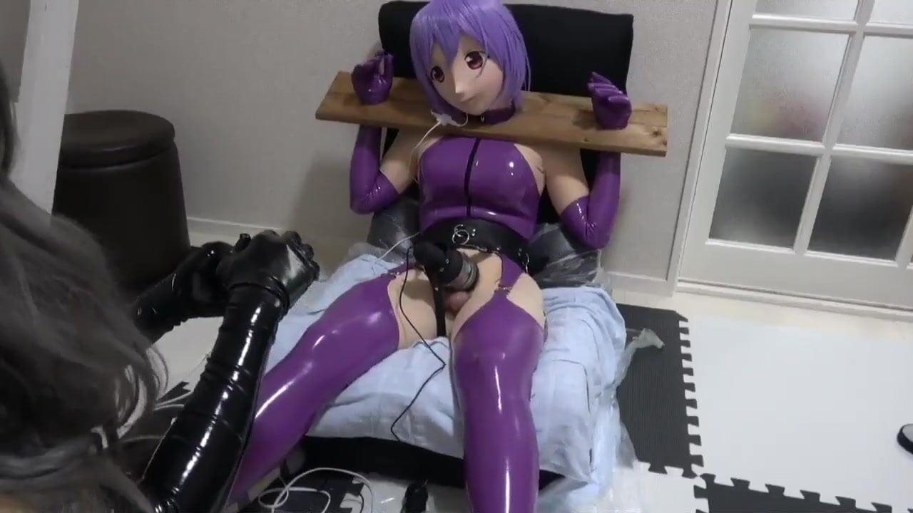 Kigurumi with vibrator