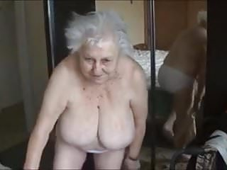 Family nude boob Old nude grandma with big boobs