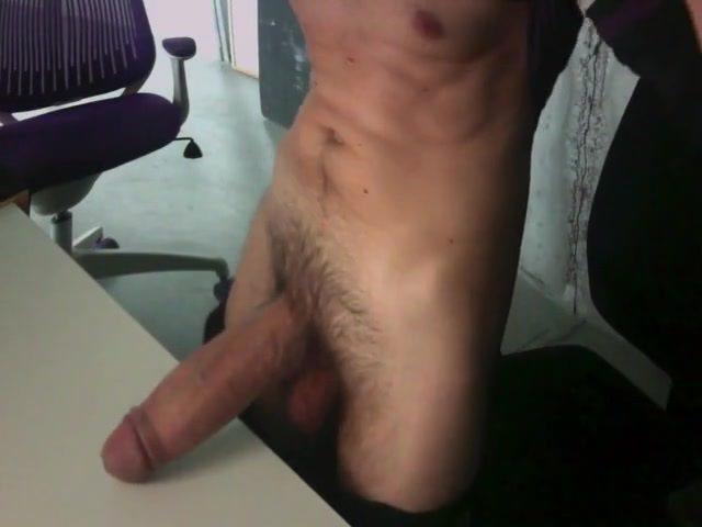 Guy Jerking Off Cumming