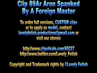 Aron carter naked ppics - Clip 89ar aron spanked by a foreign master - sale: 18
