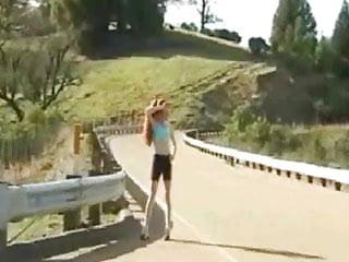 Nude jogging video Nude in public jogging redhead