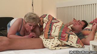 Mother in law doggy-fucks