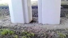 Invisible springboard at the rails